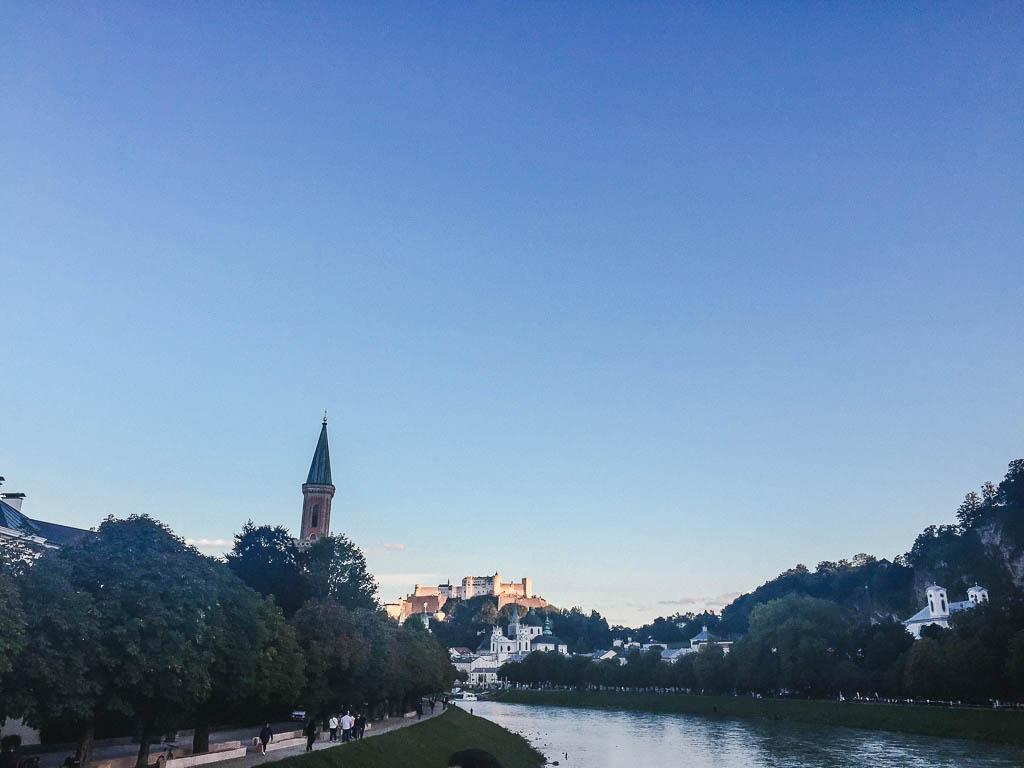 views over Salzach River