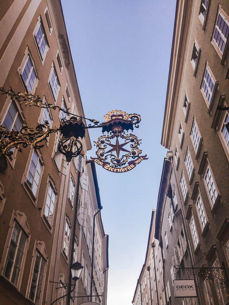 Salzburg Old Town - shopping street