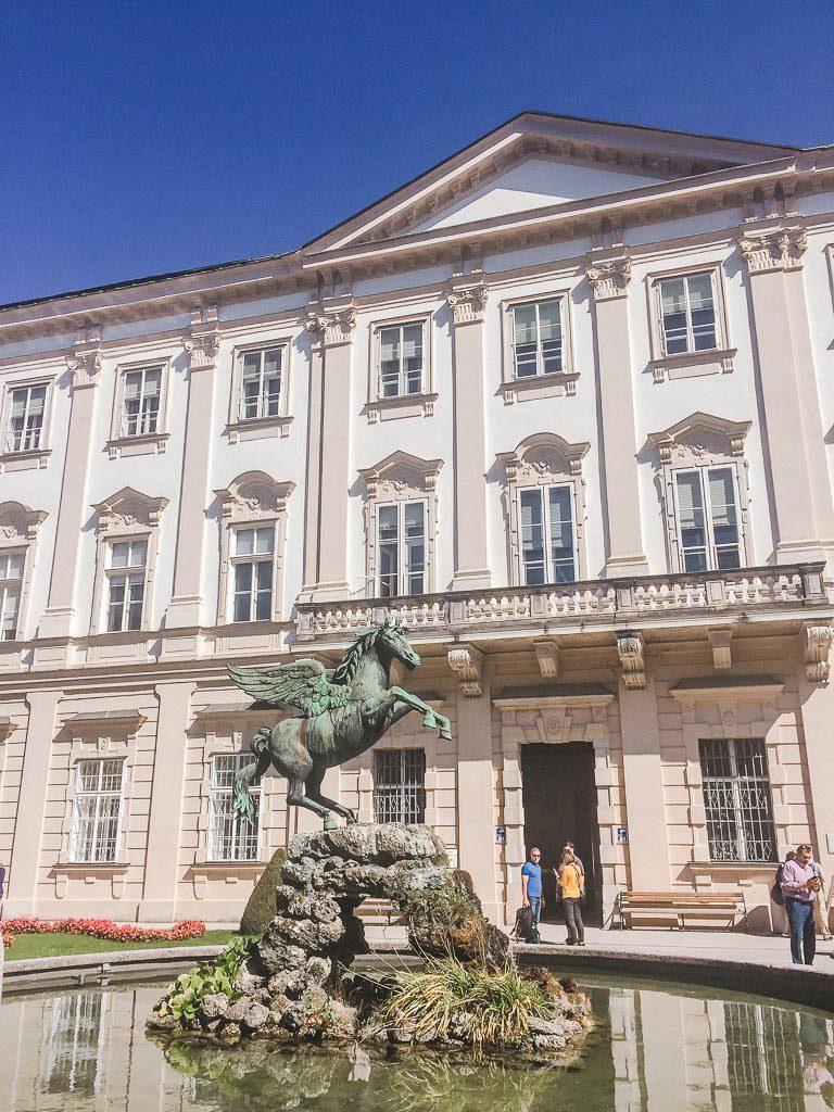 Mirabell Palace Pegasus Fountain