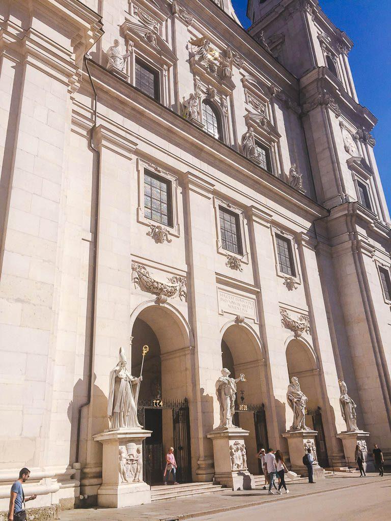 Salzburg Old Town - Salzburg Cathedral