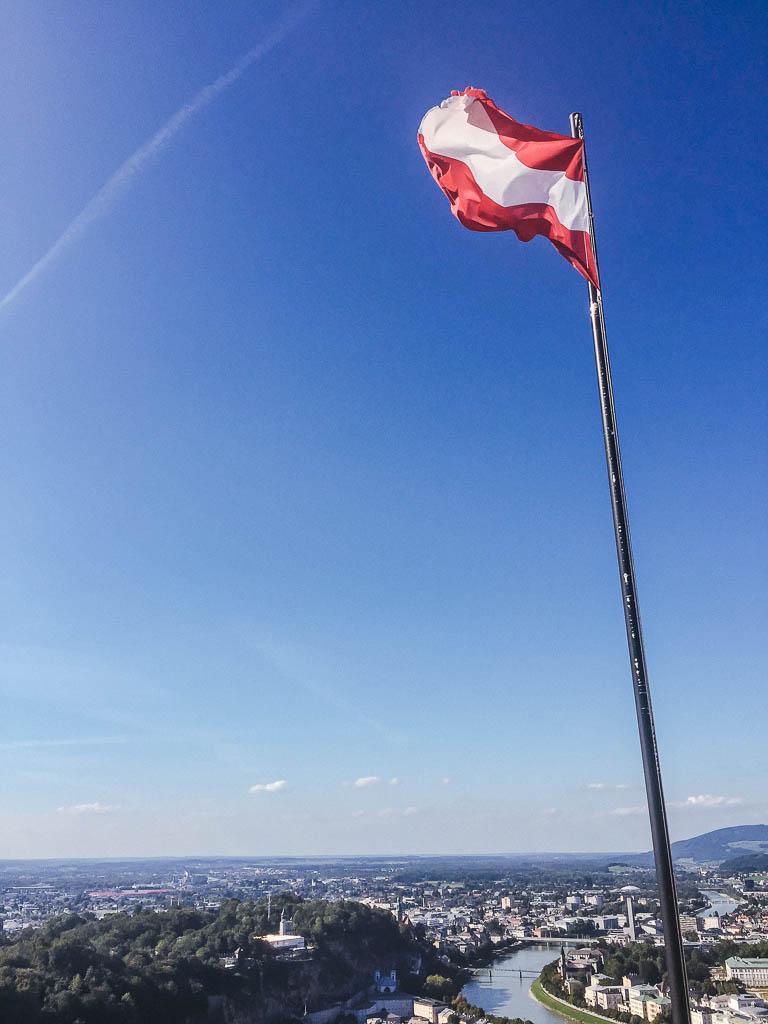 Hohensalzburg Fortress flag