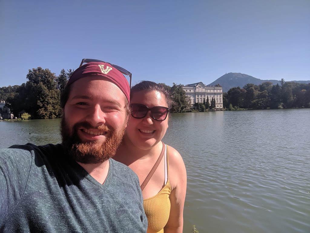 Selfie at Leopoldskron Palace