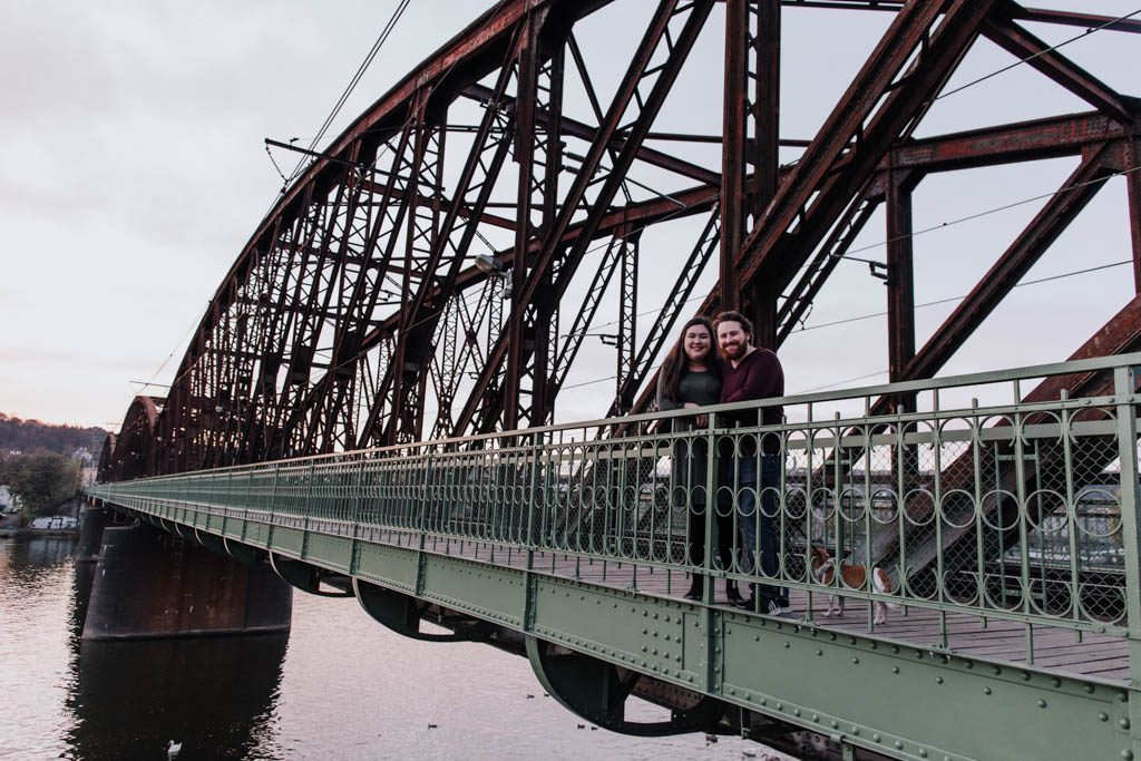 Bridge over the Vltava River