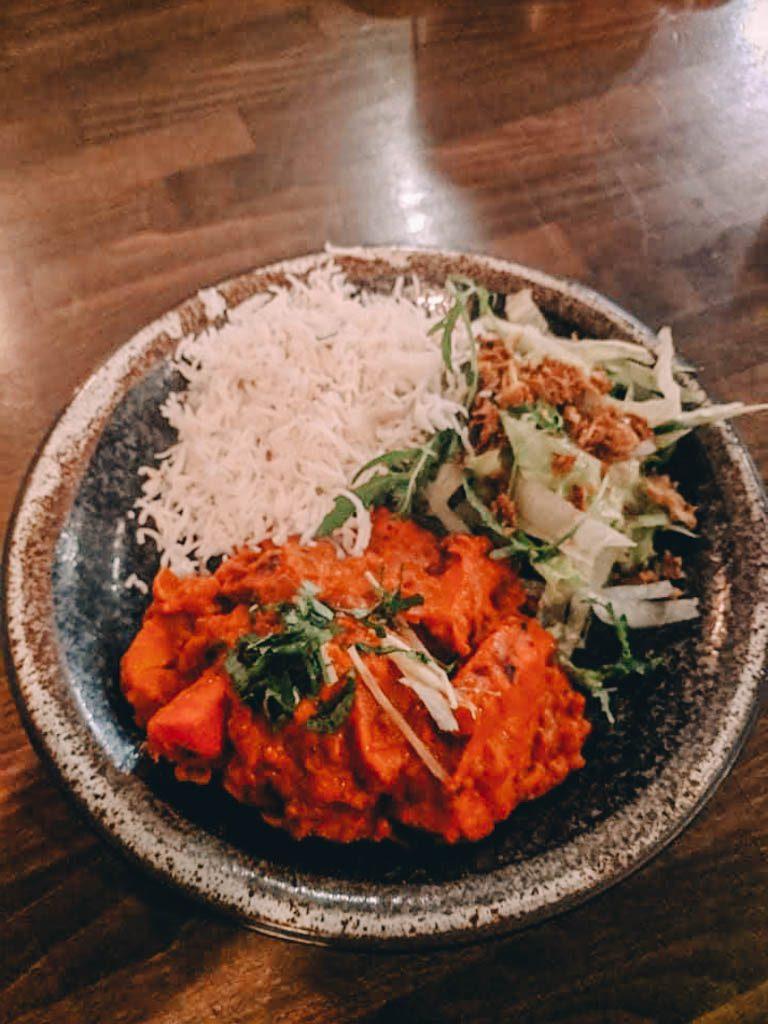 Indian food at LeBar