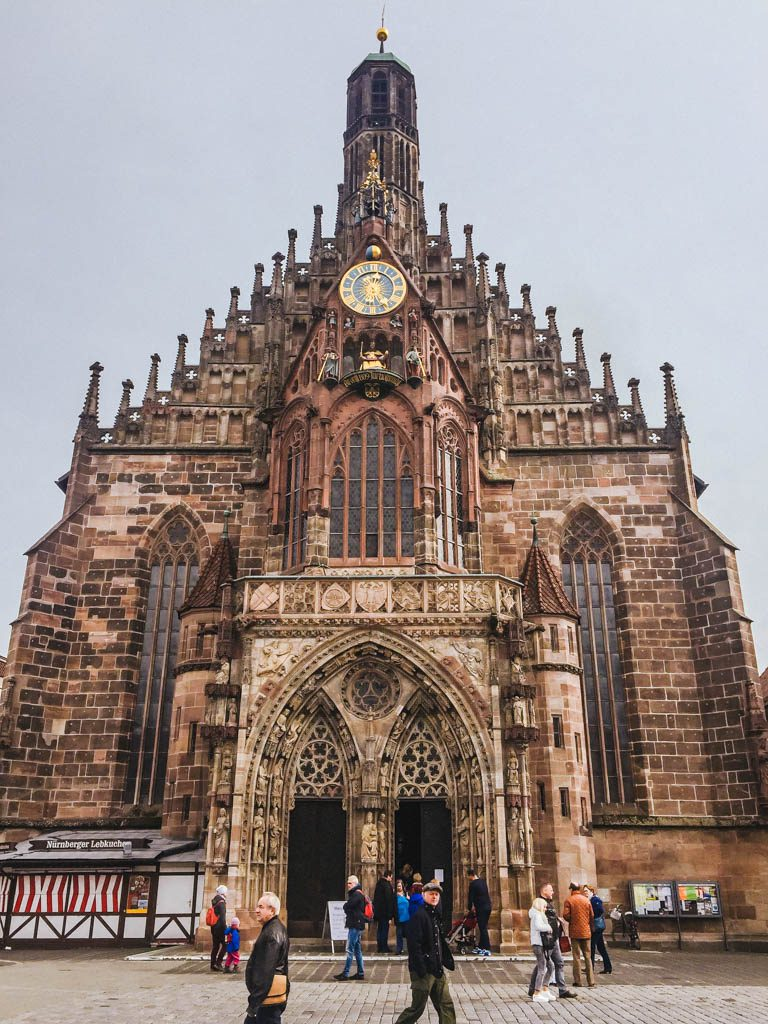 Frauenkirche or Church of our Lady in Nuremberg