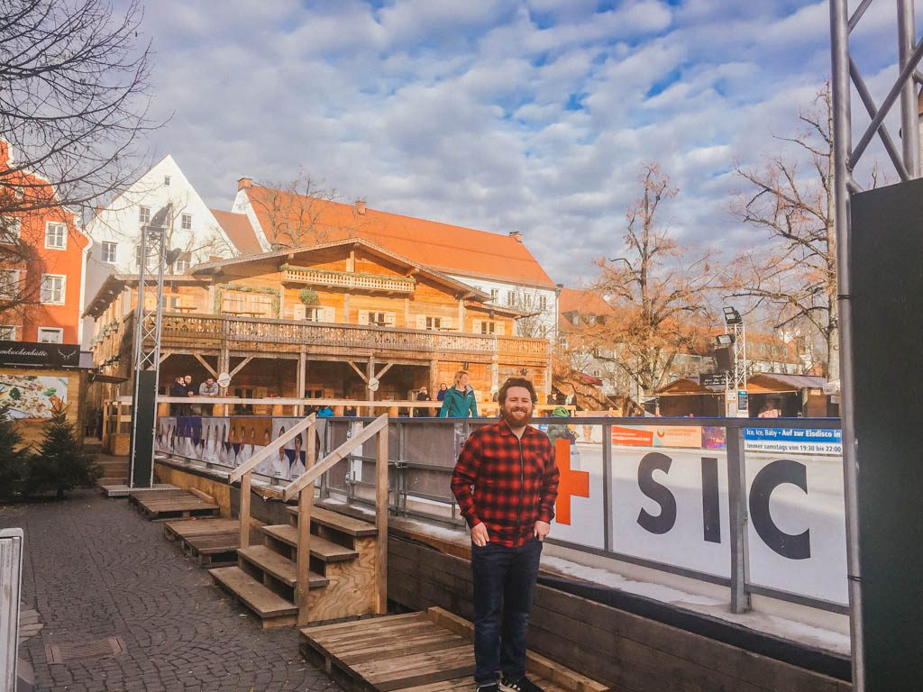 Skating rink in Ingolstadt, Germany