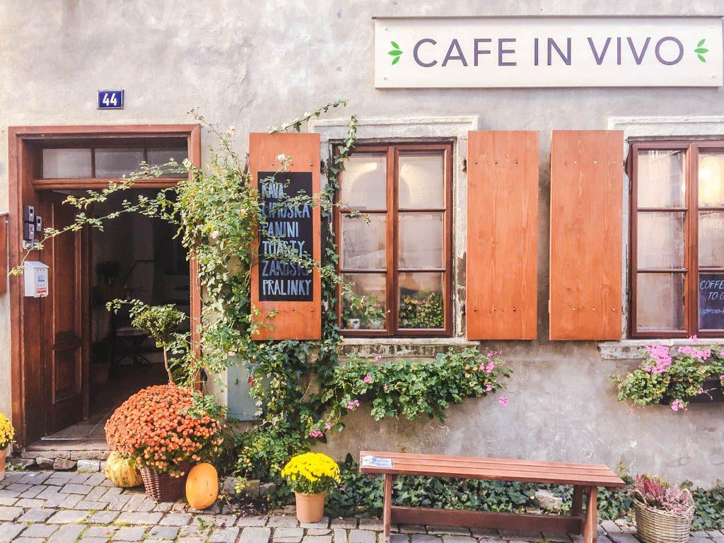 Cafe In Vivo in Cesky Krumlov
