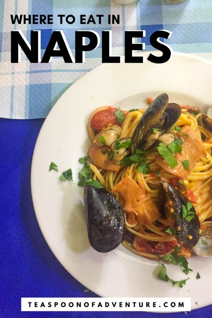 Naples is the pizza capital of Italy. But it's not just pizza that you have to eat here. Check out my picks for where to eat in Naples and taste the best pizza, pasta and pastries of your life! #naples #italy #travel #traveltips #foodie #naplesitaly #pizza #pasta