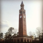 UNC's bell tower - one of my favorite symbols of the campus. Teaspoon of Nose