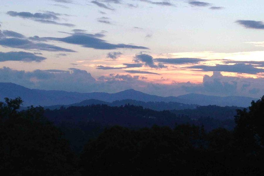 Beautiful mountain sunsets!