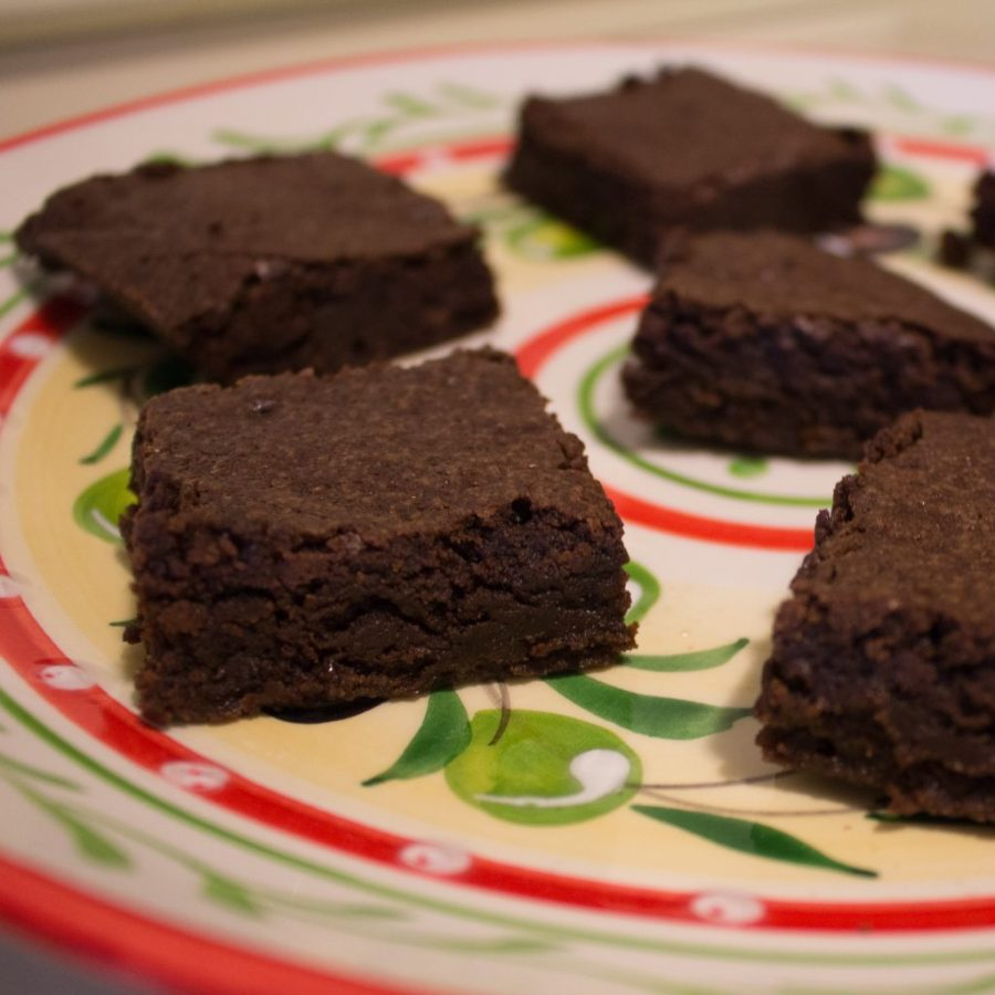 Rich fudgy brownies, HOMEMADE! | Teaspoon of Nose