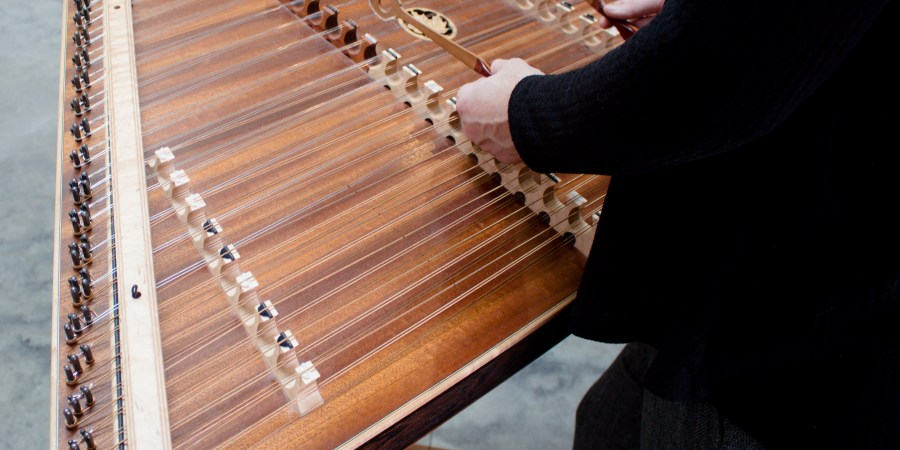 Mary Lynn van Deventer teaches hammered dulcimer, french horn, and piano! Here's a few shots from our recent photoshoot!   Teaspoon of Nose