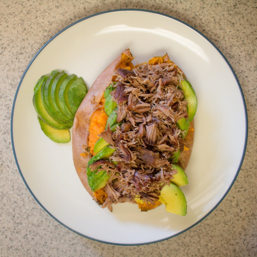 Pulled pork carnitas are delicious, uncomplicated food that's whole30 & paleo approved!