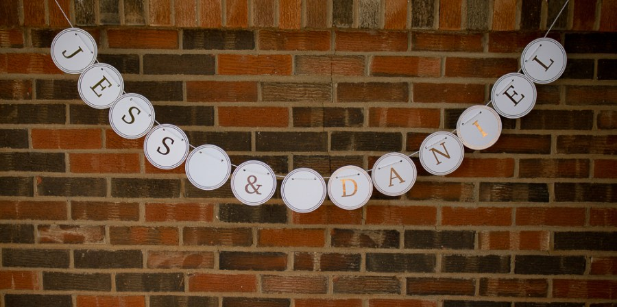 Bridal shower kit suite banner