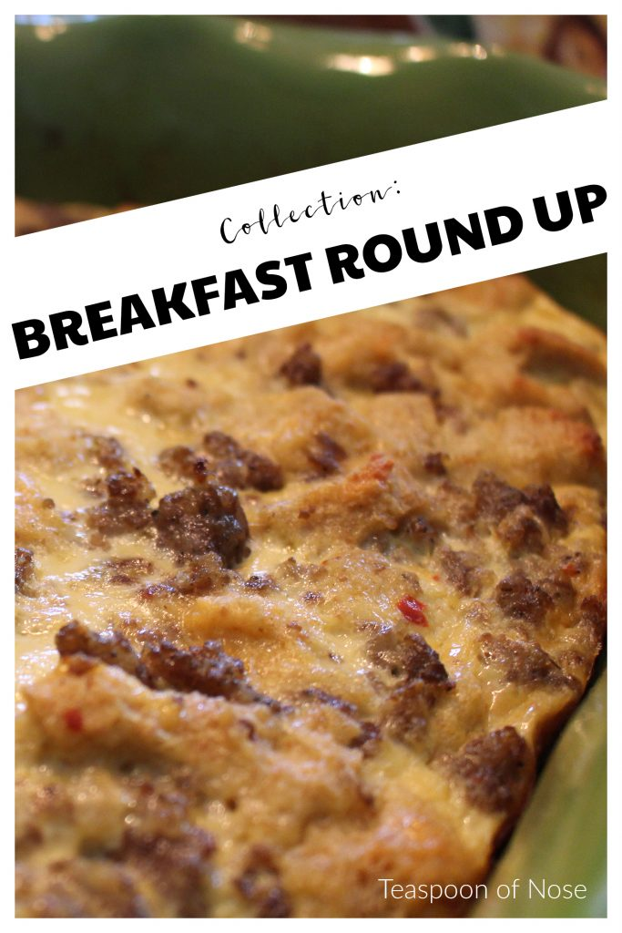 Looking for a new breakfast option? Here's a roundup of some of my favorites!