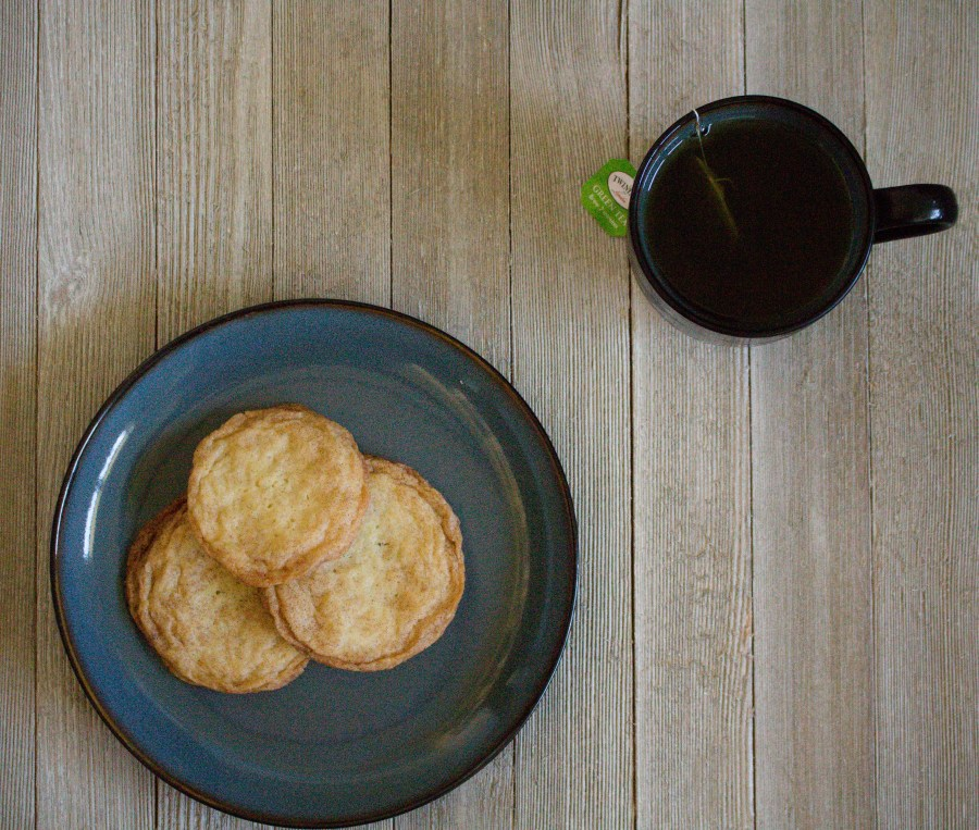 Cinnamon sugar coating adds the perfect punch to these snickerdoodle cookies! | Teaspoon of Nose