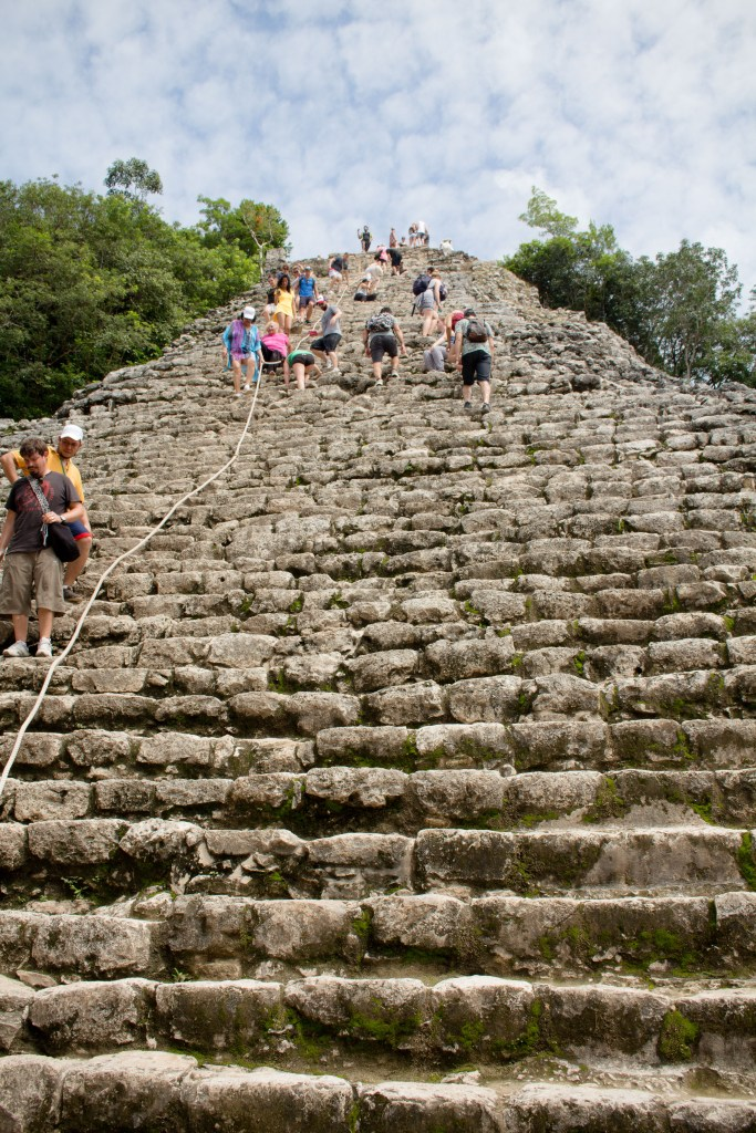 Seeing the Mayan pyramids is a MUST if you're visiting Playa del Carmen or Cancun! Here's a few essentials to know before you go. | Teaspoon of Nose