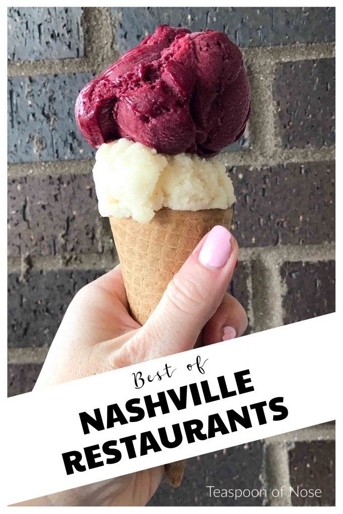 Nashville has some fantastic restaurants! Here's a few of my favorites!