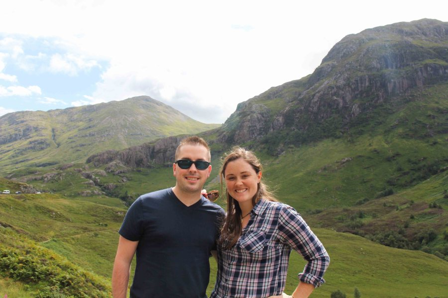 If you go to Scotland, don't skip the Scottish Highlands! There's so much to see and experience! We took a day trip with The Hairy Coo touring company and it was the best way to see a lot in a day! | Teaspoon of Nose