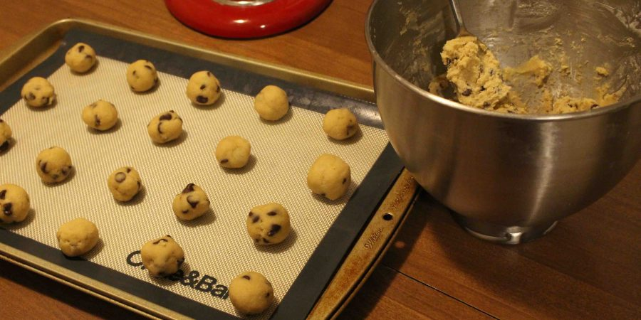 Classic chocolate chips cookies: there's ALWAYS comfort that comes from one of these babies!   Teaspoon of Nose