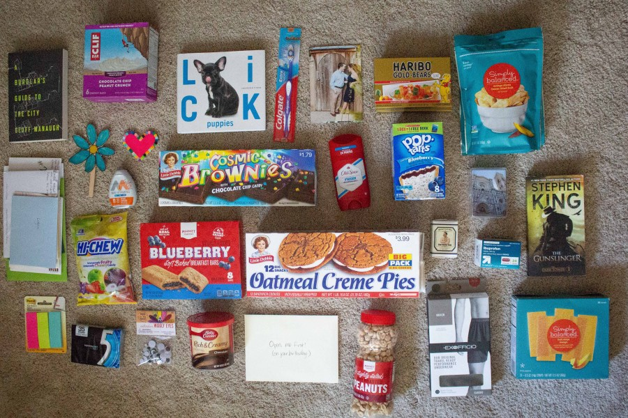 Whether for a deployed military member or college student, today we rounded up 50 things to pack in a care package!