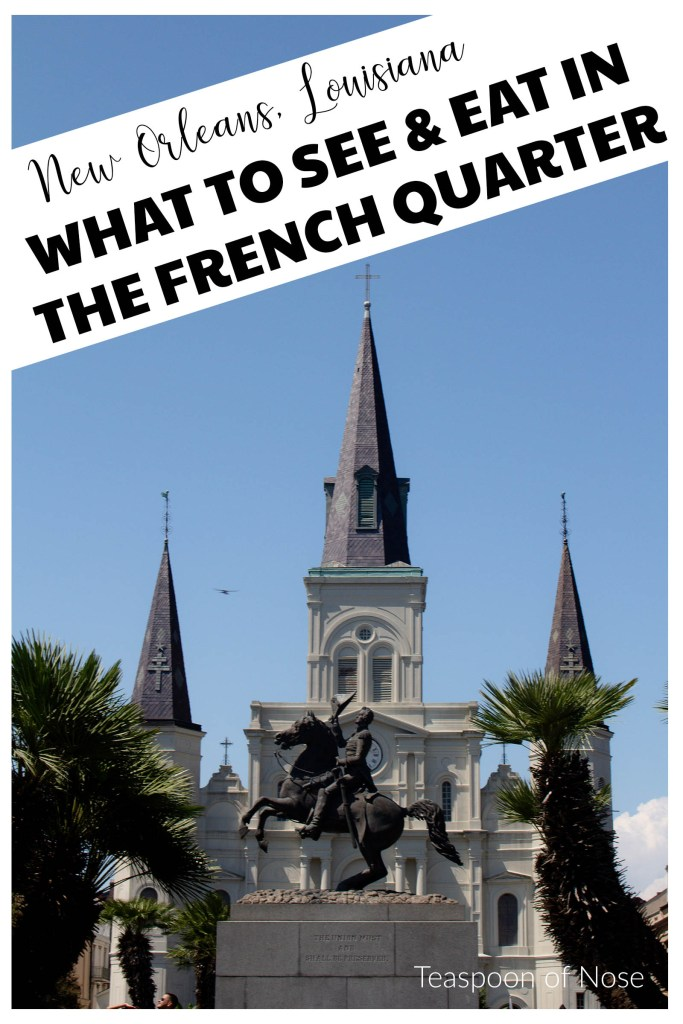 The French Quarter is DEFINITELY worth seeing in New Orleans, but you have to know where to look! | Teaspoon of Nose