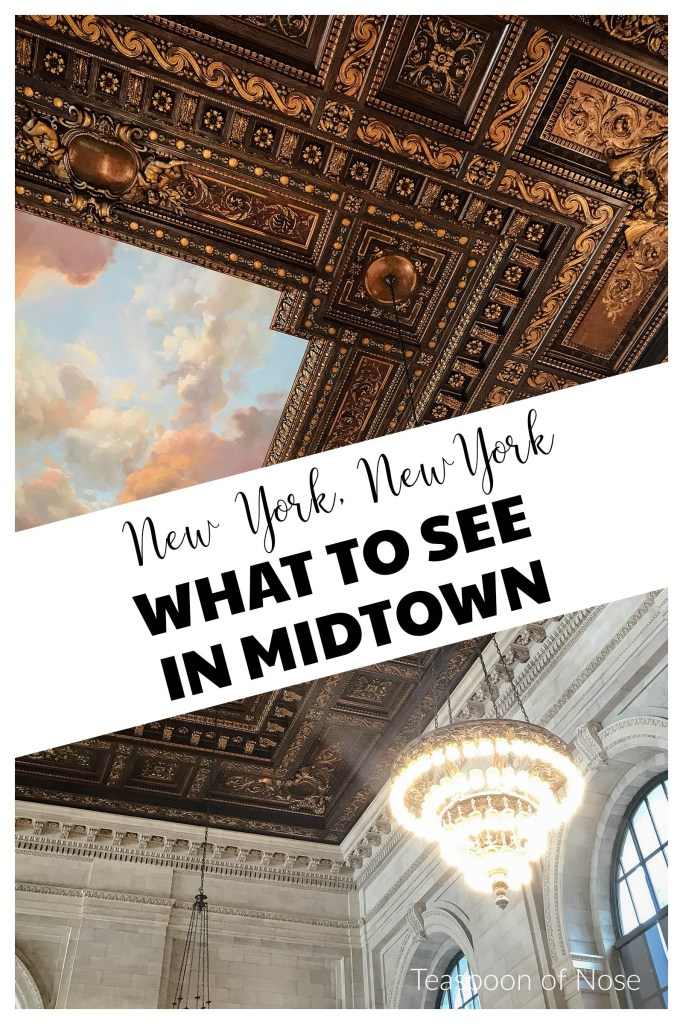 Midtown Manhattan is the quintessential New York City: here's what you should see in midtown NYC!  | Teaspoon of Nose