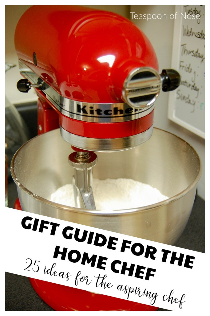 gift guide for the chef: 25 no-fail gift ideas for the aspiring gourmand or home cook in your life. | Teaspoon of Nose