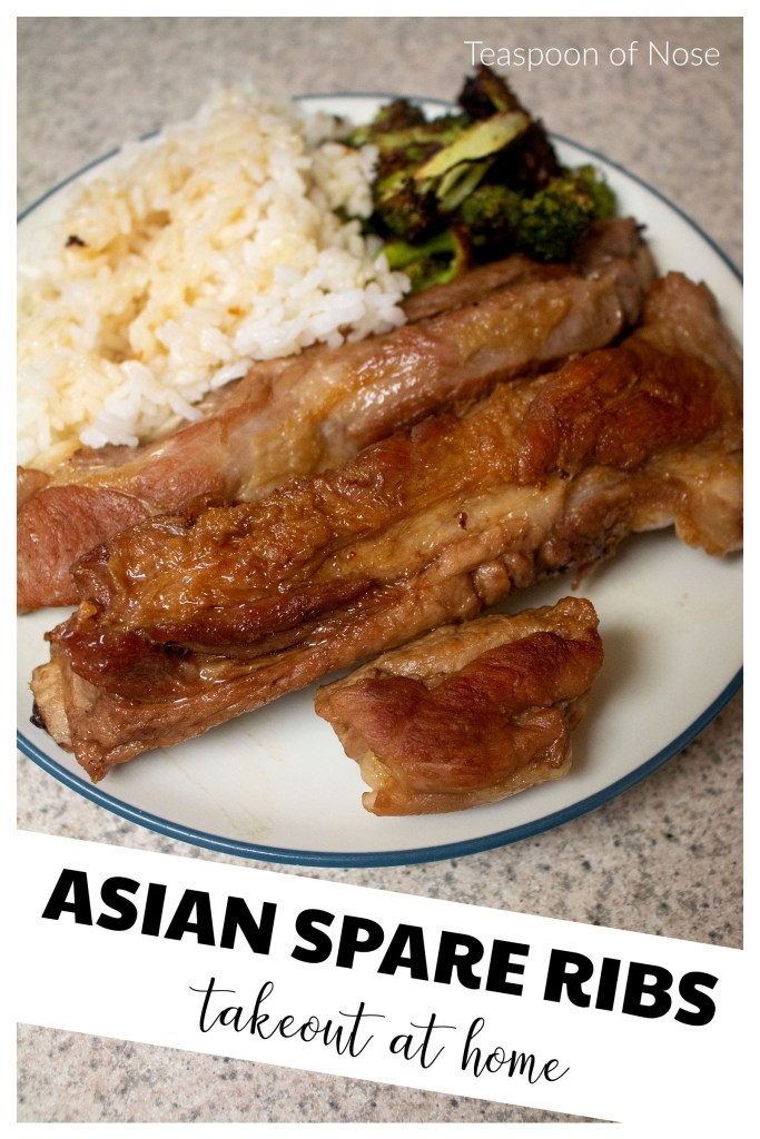 These Asian spare ribs make the perfect fake out take out!
