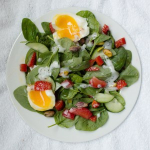 This classic summer salad will hit all the high notes! | Teaspoon of Nose