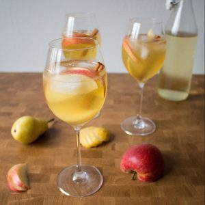 This fall prosecco cocktail will be the best thing you drink all autumn!
