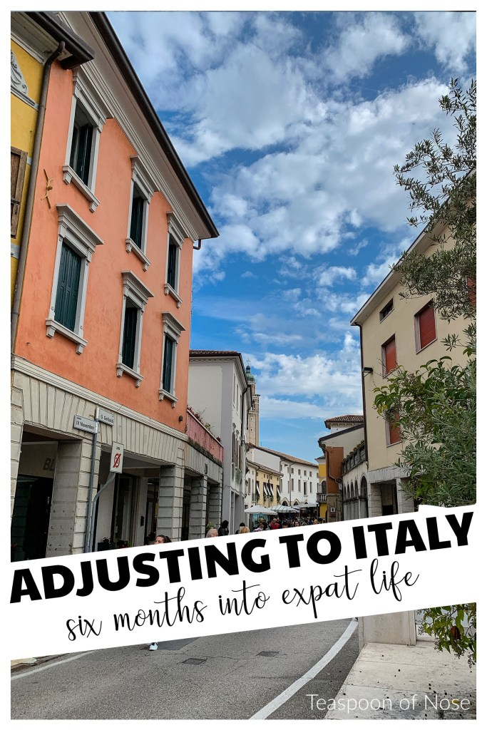 Moving abroad is a fun, crazy, and hard experience. Here's how we're adjusting to Italy so far!