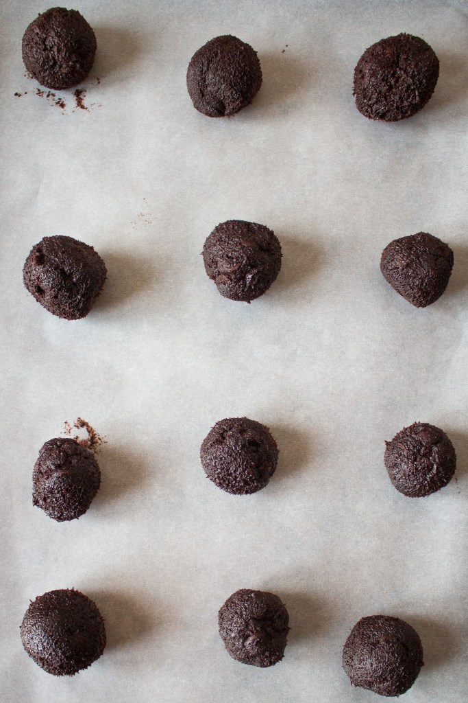 These soft-baked dark chocolate cookies are the best dessert you didn't know you were missing!