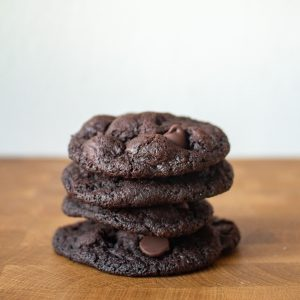 The chocolate cookies you didn't know you were missing!Dark Chocolate cookies have deep dark chocoalte flavor with just the right balance of sweetness. | Teaspoon of Nose