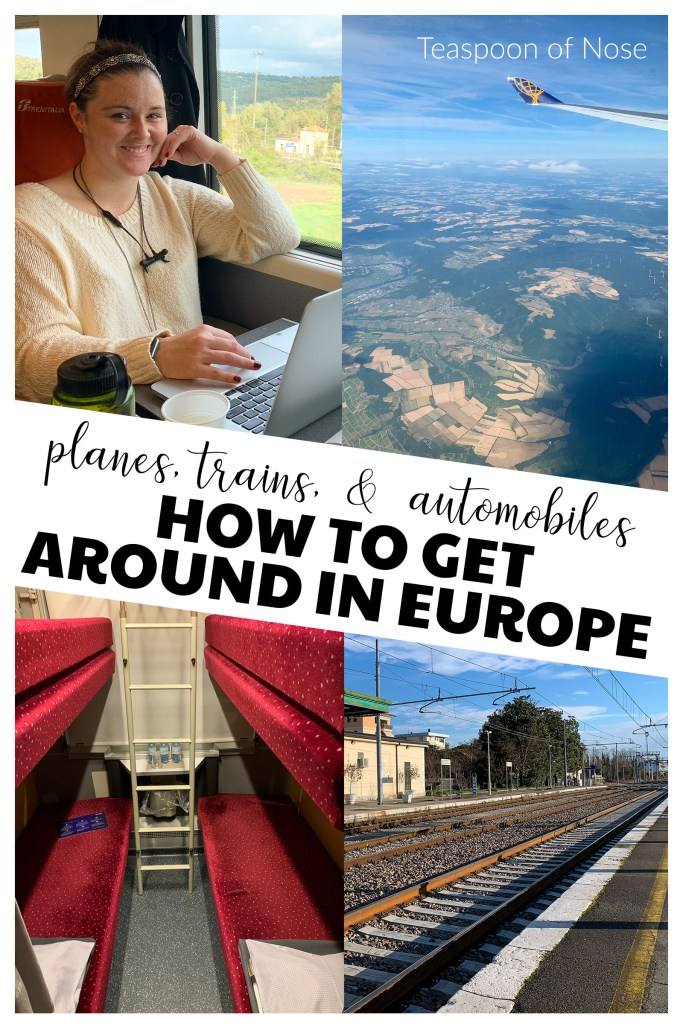 Whether by car, train, flight, or bus, there's always a ton of options for how to get around in Europe! Here's what you need to know about each.