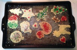 Christmas cookie decorating with Mom is our longest-running tradition!