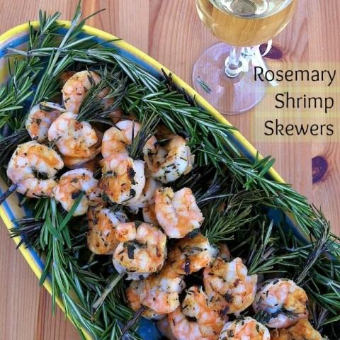 Rosemary Shrimp Skewers pin