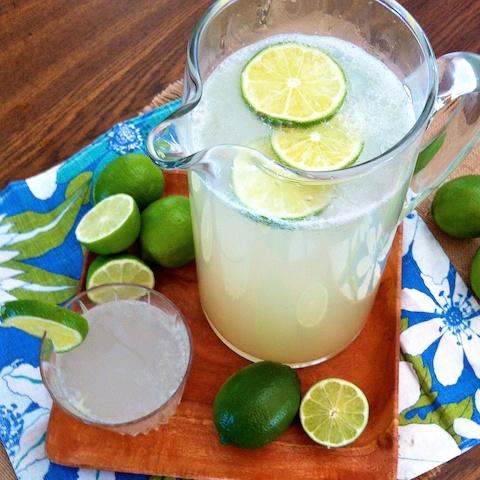 Fresh Limeade Fizz pitcher