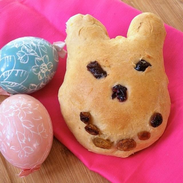 Mini Bunny Sweet Bread