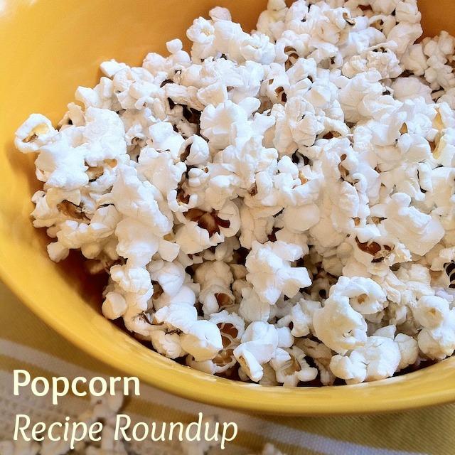 Popcorn Recipe Roundup | TeaspoonofSpice.com