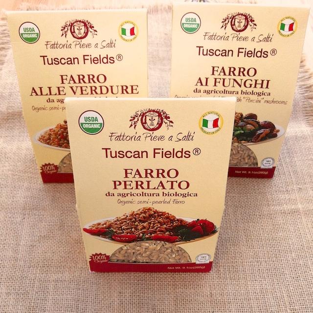Tuscan Fields Farro | Teaspoonofspice.com