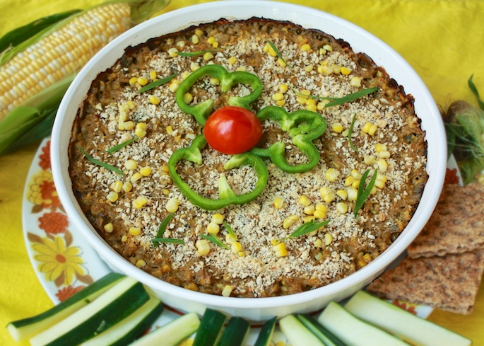 Hot Corn & Crab Dip | Teaspoonofspice.com