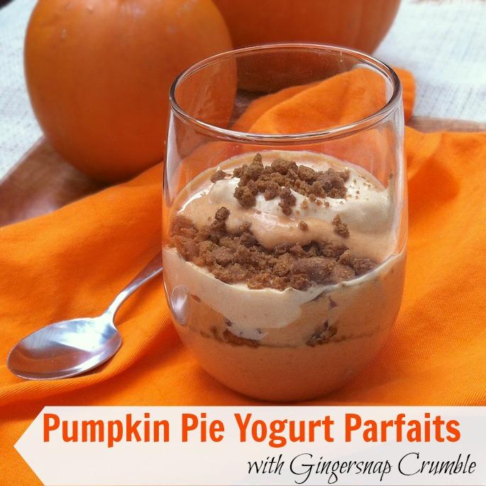 Pumpkin Pie Yogurt Parfaits | Teaspoonofspice.com