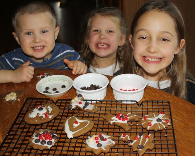 Low Sugar Gingerbread Cookies | Teaspoonofspice.com
