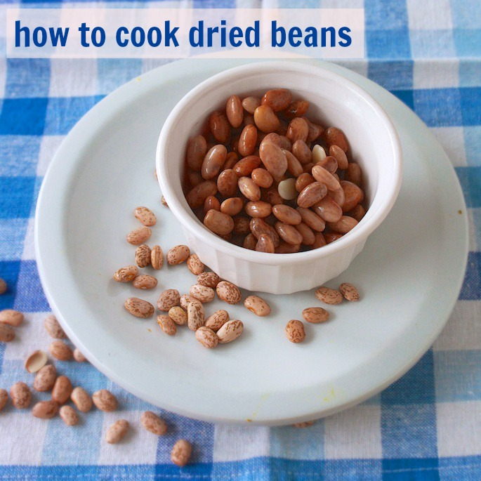 How to Cook Dried Beans | Teaspoonofspice.com