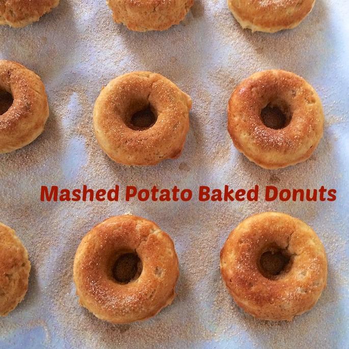 Mashed Potato Baked Donuts | Teaspoonofspice.com