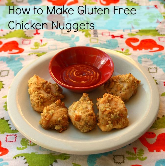 How to Make Gluten Free Chicken Nuggets