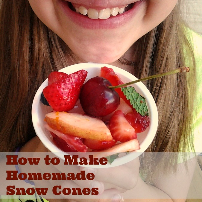 How to Make Snow Cones | TeaspoonOfSpice.com