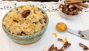 Pecan Date Breakfast Couscous | The Recipe ReDux