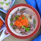 beef rice soup